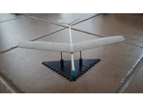 Dihedral jig/ruler and center of gravity(CG) balancer