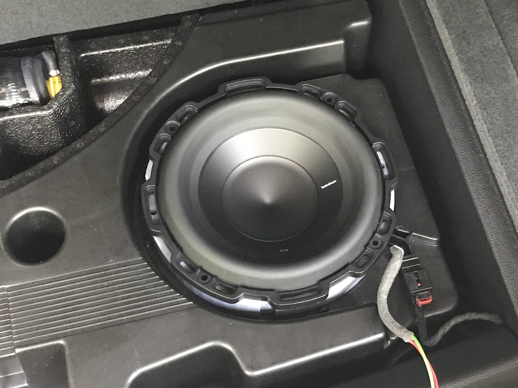 Audi Q7 BOSE Subwoofer Spacer by rsilvers - Thingiverse