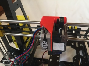 E3D Titan Extruder Upgrade for Prusa Steel Igus bearings