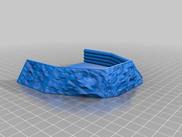3d printed ww2 log gunpit tyrela
