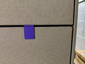 Cubicle Sign Mount