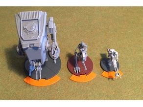 Star Wars Legion firing arc markers