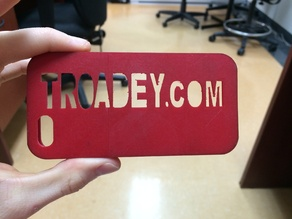 iPhone case made with NinjaFlex | Troadey inc.