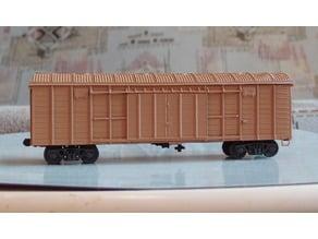 SZHD/RZHD boxcar 1:87 (H0)