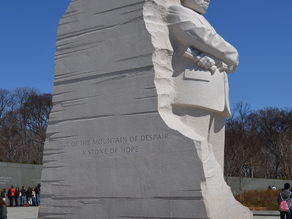 Martin Luther King Monument in Washington DC