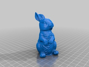 Easter Bunny - 3D Scan