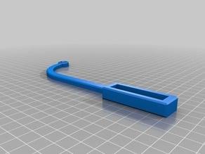Ender 3 filament guide open