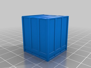 1-87 HO scale Wood shipping crates