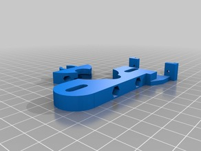 Autoleveling mount for servo and Geeetech J-Head