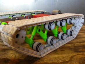 Tank Track, Idler wheels, spacers