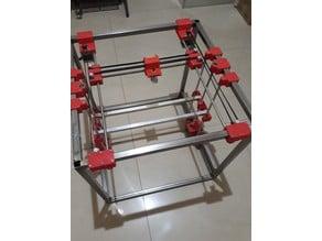 Ethios v2 - HBot 3D Printer - Impresora 3D Sistema HBot - Working!