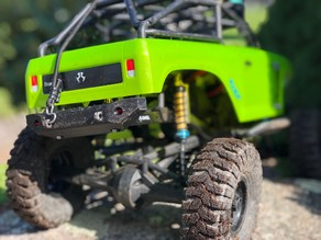 """Rock Smasher V2"" Rear Bumper for RC Crawlers"