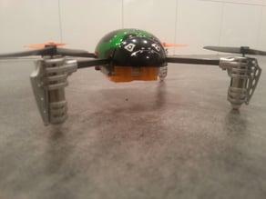 Mini quad main hub for Ladybird QR v1