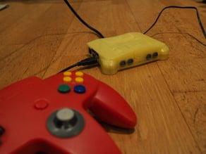 Nintendo 64 - Raspberry case with fan