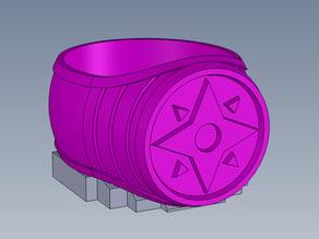 Violet Lantern Ring
