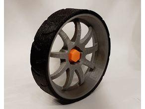 B-Robot lightweight low profile tire