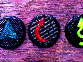Infinity the Game order markers