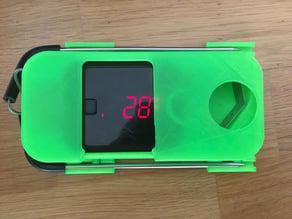 Inkbird IBT-2X cover + BBQ hanger for 2 sensors