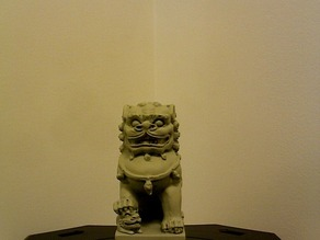 Chinese Dog or Chinese Guardian Lion [some may say]