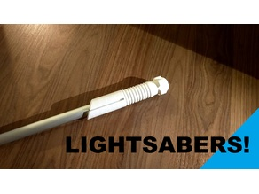 Lightsaber Hilts (Sith and Jedi)