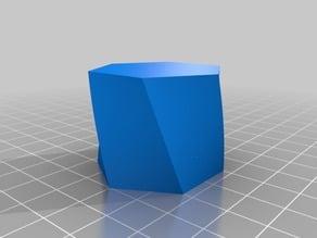 Twisted hexagon