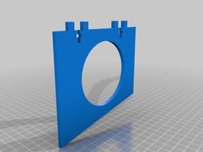 Fan_80mm_holder_for_mainboard_Anet_A6
