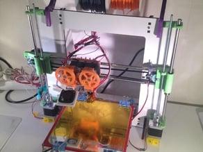 Prusa I3 Single Frame Filament Holder