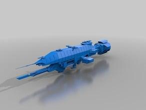 Babylon 5 Warlock Class Starship