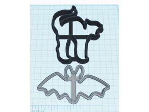Bat & Cat Cookie Cutters