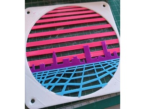 Retrowave fan grill 140mm