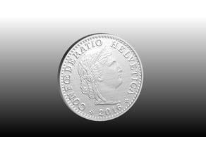 20 Swiss Cents