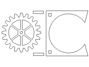Gear Coasters for CNC