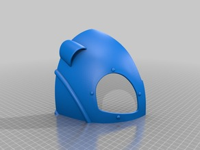 Rocketeer Helmet Split for Ender 3