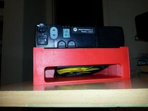 Motorola Radius CM200 radio cooling tray
