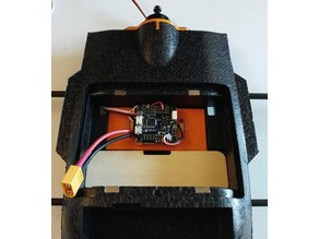 Reptile S800 board mount for FC + UBEC
