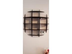 Etagère ronde / Round shelf