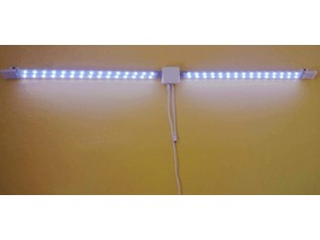 Simple wall light from Tween Light RGB LED strips