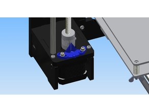 Anet A6 A8 Z-axis alignment indicator