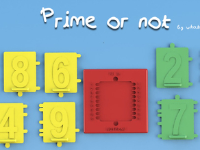Prime or not! Discover if a number is prime and the prime numbers formed with it from 1 to 99
