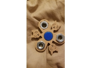 Dog Face Fidge Spinner 1/2 Nuts Weights