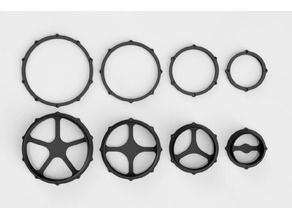 One Piece Shell and Rim for E-Drum