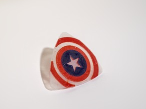 Captain America guitar pick