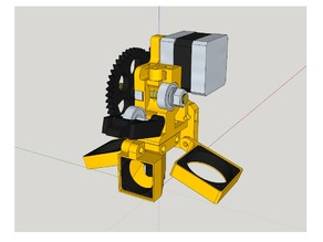 Wade L3K Extruder (prusa I3) compatible filament flexible By Skarab (JHead - Hexagon - E3DV6 - Aluhotend V7 et AllinOne Compatible)