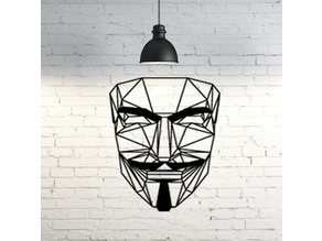 Anonymous wall sculpture 2D