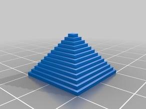 Piramide test model