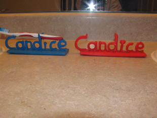 Candice/Candace Toothbrush Holder (optional microphone)