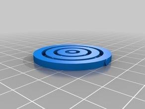 Concentric parametric moving circles