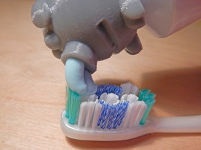 Toothpaste Topper