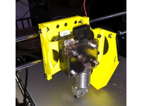 Anet A8 Titan extruder and V6 Hotend mount. (Volcano too)