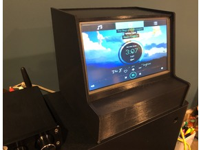 Volumio Jukebox with Touchscreen LCD and Pi-DAC Pro